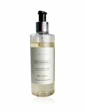 Botanical Hand Wash by Delilah Chloe, Luxury Bath & Body Toiletries