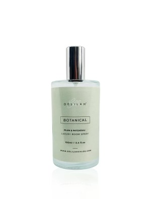 Botanical Luxury Room Spray, designer home fragrances by Delilah Chloe