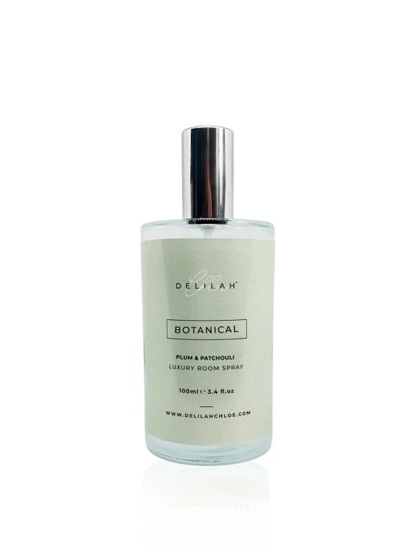 Botanical Luxury Room Spray, designer home fragrances by Delilah Chloe