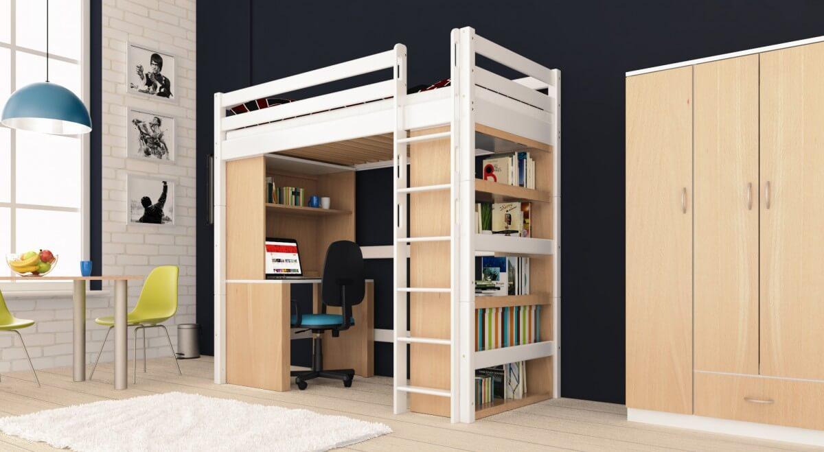 Hochbett Mit Schreibtisch Für Erwachsene 2021