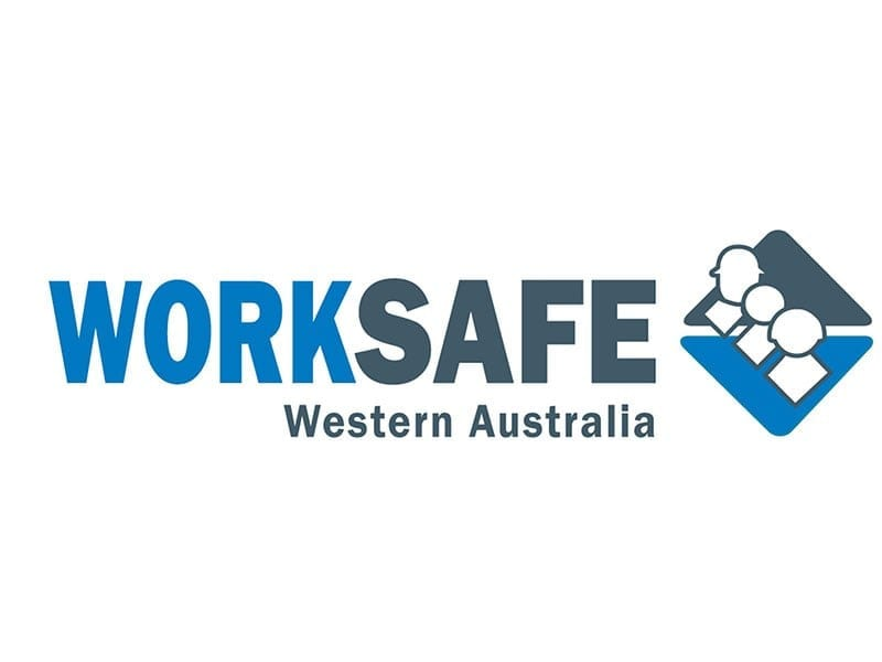 Delineation Line Makring is Worksafe Western Australia