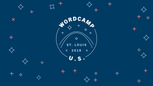 Trade show design and motion graphics for WordCamp US 2019