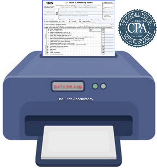 1065 Tax Return Engagement Paperwork - Click on to Download Engagement Paperwork in a pdf format