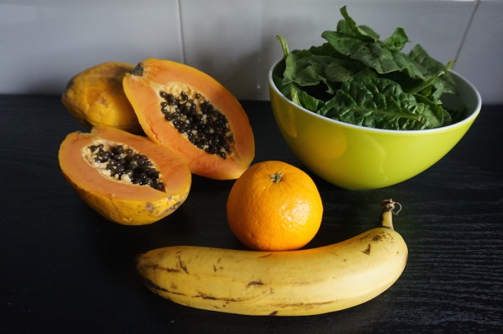 Receta: smoothie de papaya
