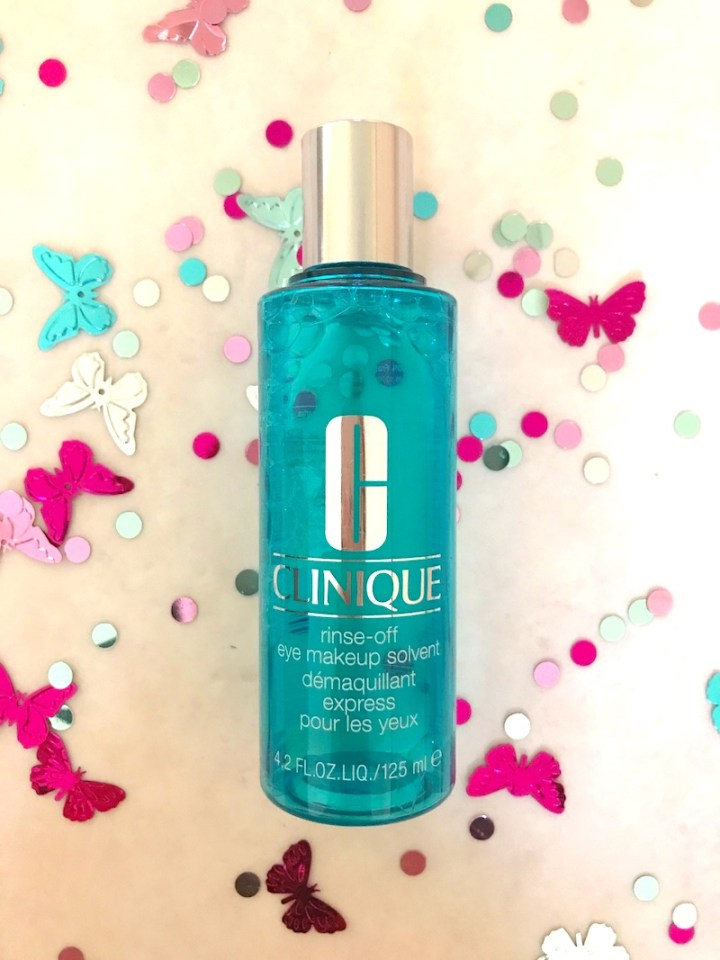 Review de Rinse-Off Makeup Solvent de Clinique