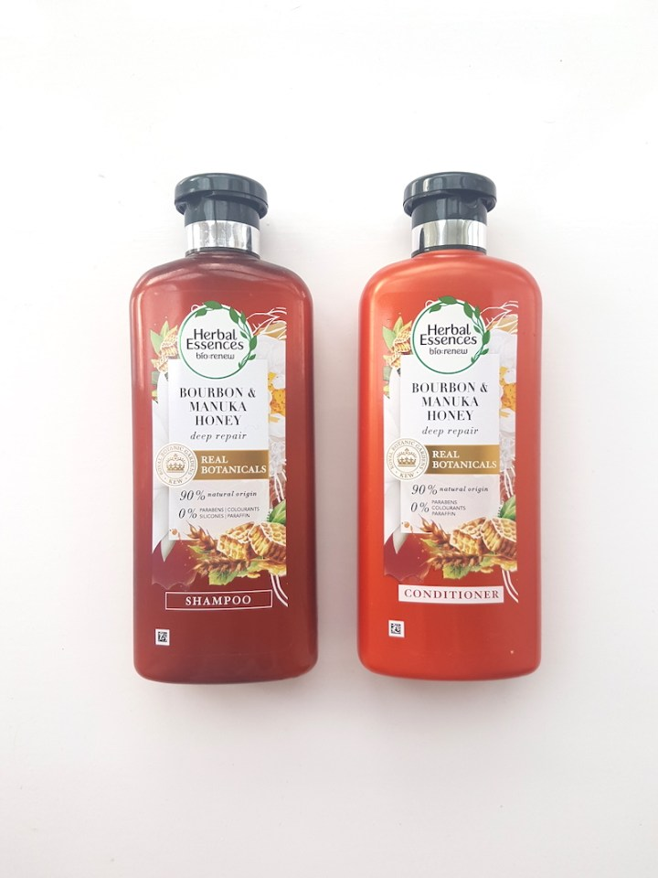 Review: Champú de Bourbon & Miel de Manuka, de Herbal Essences