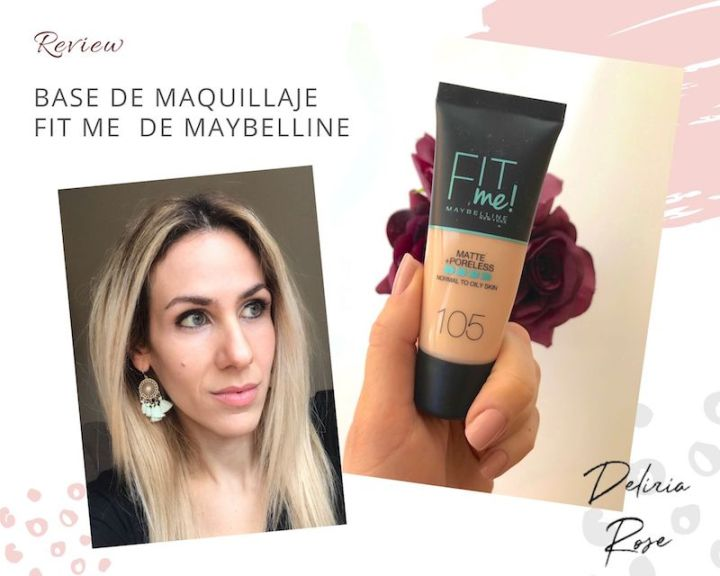 Mi opinión de la base Fit Me Poreless Liquid de Maybelline