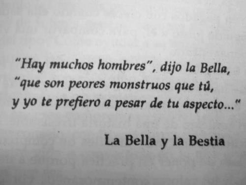 Bella y Bestia son