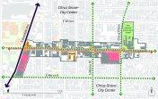 Map of the East Broadway Corridor