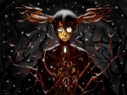 Arte: http://nari-nori.deviantart.com/art/Over-the-garden-wall-Beast-503556186
