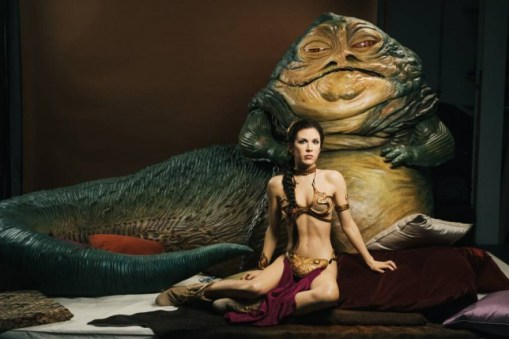 Resultado de imagem para princesa leia e jabba