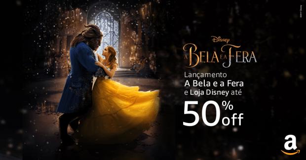 Lançamento A Bela e A Fera e Loja Disney com até 50% off!