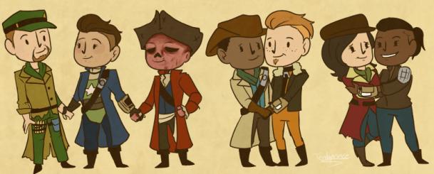 personagens LGBT