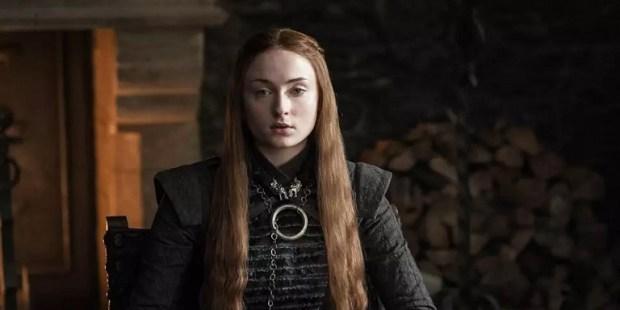 Sansa Stark (Sophie Turner) em Game of Thrones