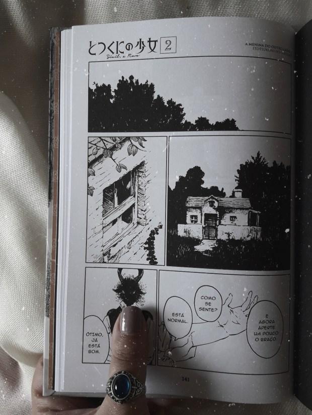 """A arte minimalista de Nagabe em """"A Menina do Outro Lado"""""""