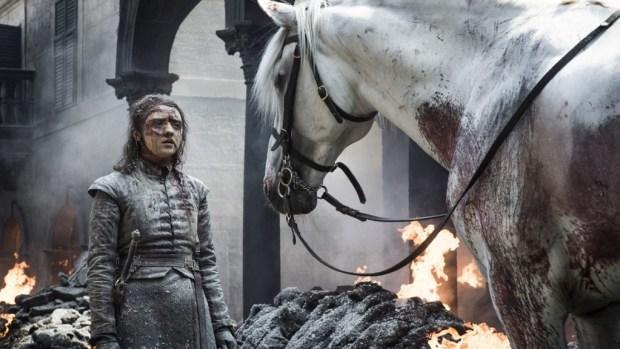 Arya Stark (Maisie Williams) (Foto: Reprodução)