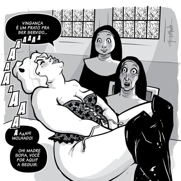 Arte de Germana Viana - quadrinhos eróticos