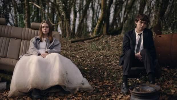 Alyssa e James na segunda temporada da série britânica
