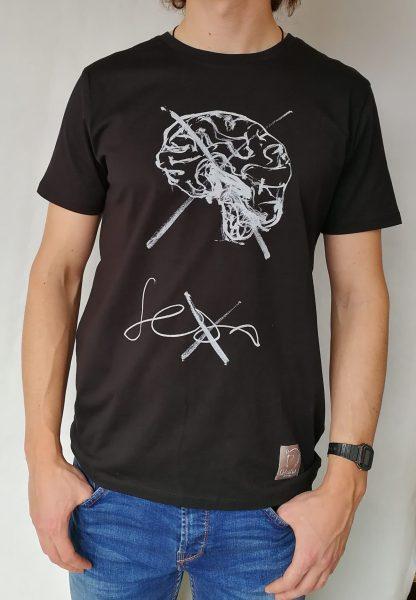 Camiseta Sexo manga corta color negro hombre