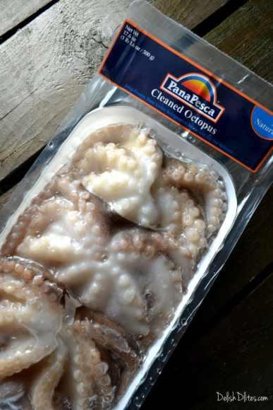 Ensalada de Pulpo (Octopus Salad)   Delish D'Lites