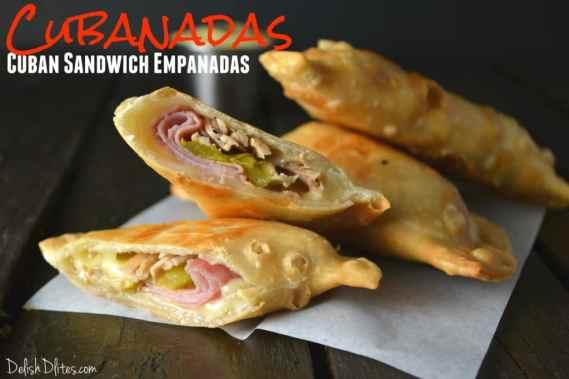 Cubanadas (Cuban Sandwich Empanadas) | Delish D'Lites