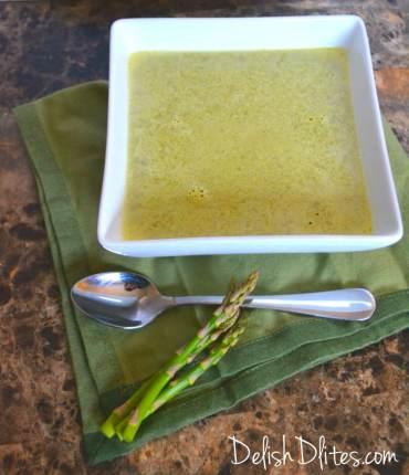 Cream of Asparagus Soup | Delish D'Lites