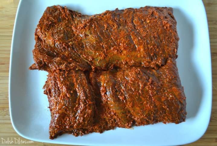 Ancho Chile-Rubbed Skirt Steak | Delish D'Lites
