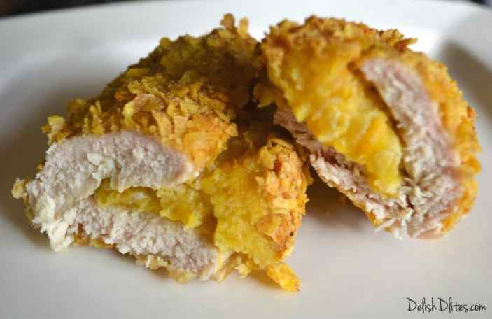 Plantain Crusted Stuffed Chicken Breasts | Delish D'Lites