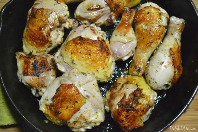 Pineapple-Mustard Glazed Chicken | Delish D'Lites