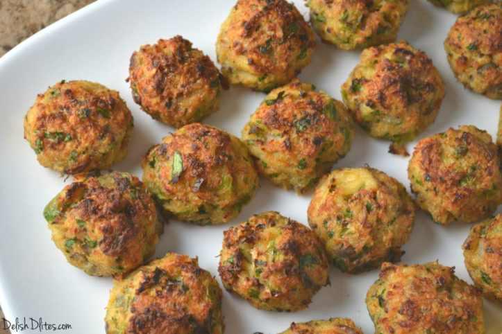 Baked Crab Cake Bites with Lemon Remoulade | Delish D'Lites