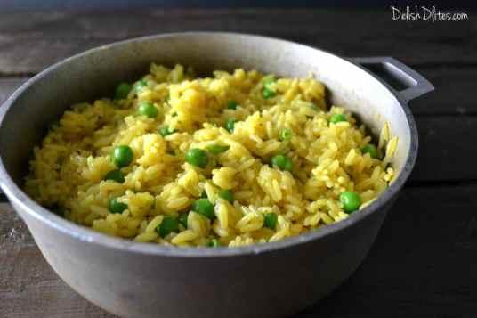 Arroz Amarillo (Spanish Yellow Rice)   Delish D'Lites