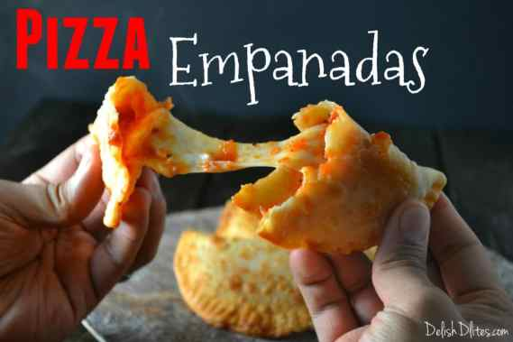 Pizza Empanadas (Empanadillas De Pizza) | Delish D'Lites