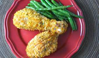 Oven Fried Panko Crusted Chicken
