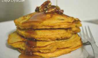 Sweet Potato & Pecan Pancakes