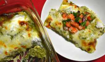 Cheesy Turkey Enchiladas