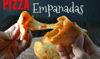 Pizza Empanadas (Empanadillas De Pizza)
