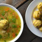 Sopa De Pollo Con Mofongo (Puerto Rican Chicken Soup)