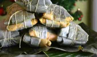 Puerto Rican Pasteles De Yuca