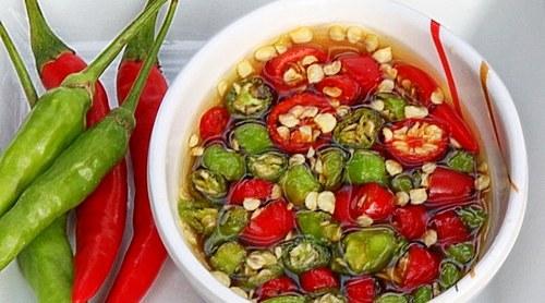 """Fish Sauce with Thai Chilis - """"Prik Nam Pla"""" - Thai"""