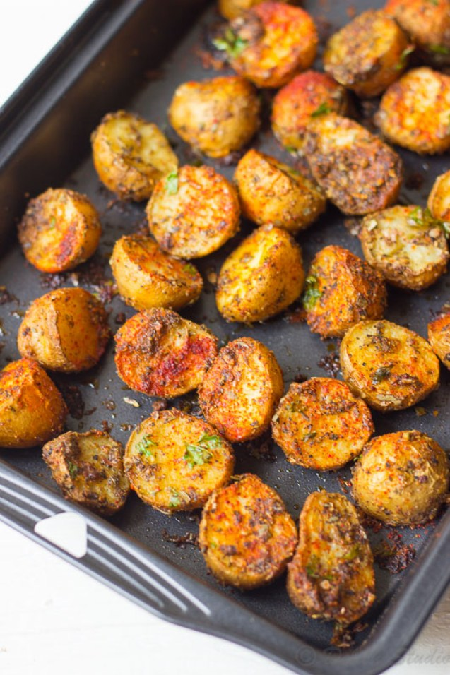 Crispy Spicy Cajun Roasted Potatoes Recipe Delish Studio