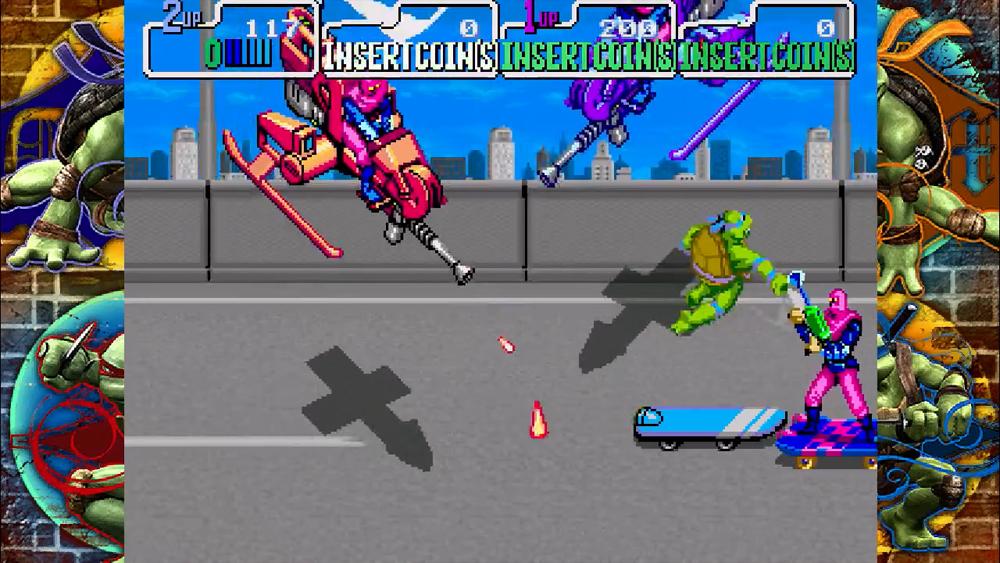 teenage mutant ninja turtles sony playstation game