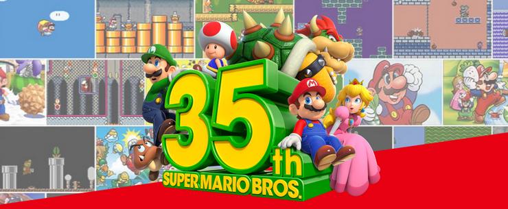 Super Mario Bros. 35th Anniversary releases already have a Delisting date!