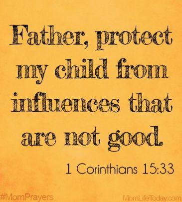 Prayer for rebellious children - Keys to the Kingdom