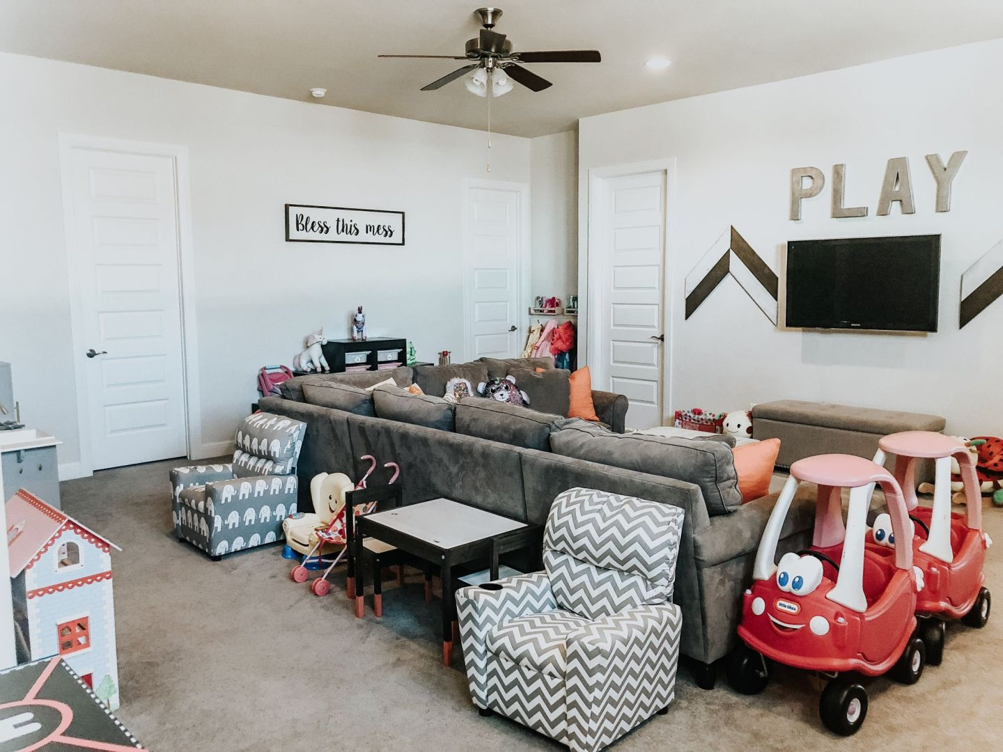 playroom organization tips, game room organization tips play room decor
