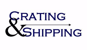 crating and shipping logo