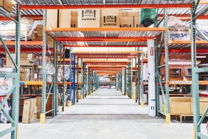 Furniture and moving storage at Delivery Limited warehouse in Dallas