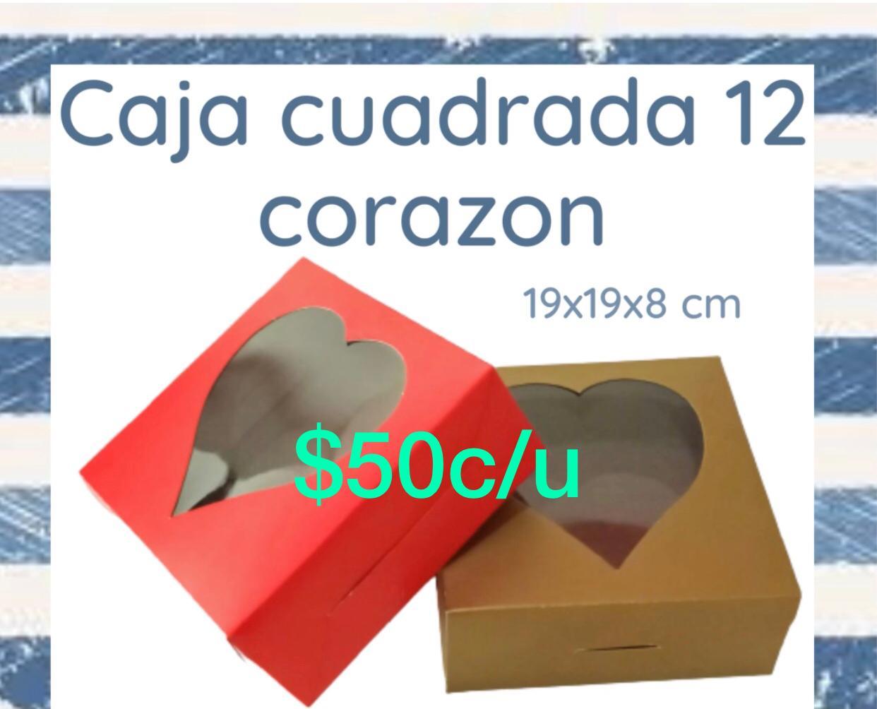 Caja cuadrada con Corazon