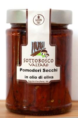 pomodori secchi in olio