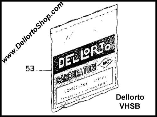 Dellorto VHSB34QD Carburetor Parts for Rotax Max