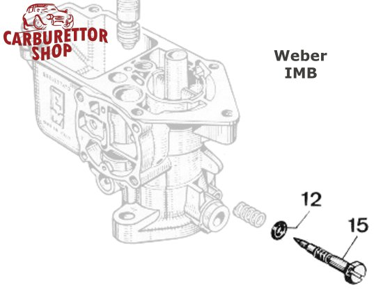 Weber IMB Carburetor Service Kits and Parts